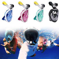 High Quality Anti fog Diving Mask Full Face Scuba Diving Snorkeling Mask Set Men Women Swimming Underwater Sports Equipment