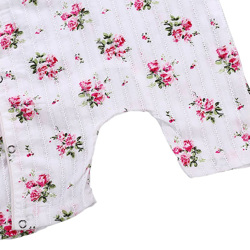 9d5d52775870 Newborn baby romper summer baby girl Siamese short sleeved cheongsam  rompers Chinese style-in Rompers from Mother   Kids on Aliexpress.com