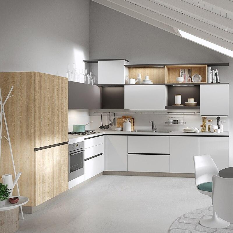 Komplette küche schränke moderne küche schrank in erschwinglichen ...