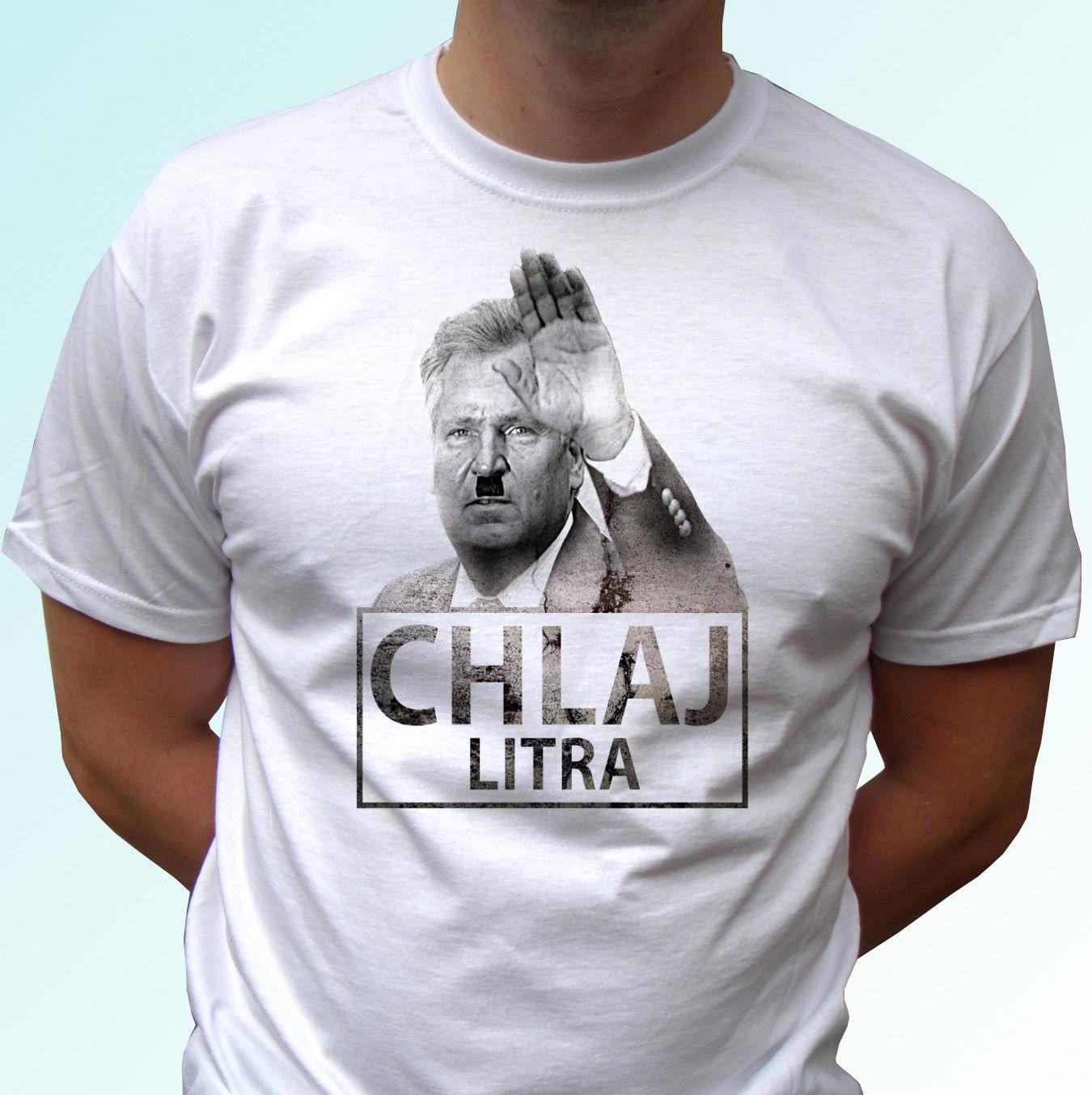 Chlaj Lit funny   shirt   Poland alcohol   t     shirt   funny   shirts   Polish Tops streetwear pride   t     shirt   men Cool Casual Free Shipping