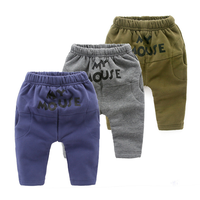 Зима детские бархатные брюки брюки детские брюки