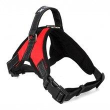 New Big Dog Soft Adjustable Harness Pet Large Dog Walk Out Harness Vest Collar Hand Strap