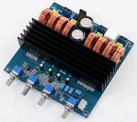 DC24V TDA7498 200W + 100W + 100W 2.1 Channel Digital Power Amplifier Board Class D Amplifier Board 114 * 109MM