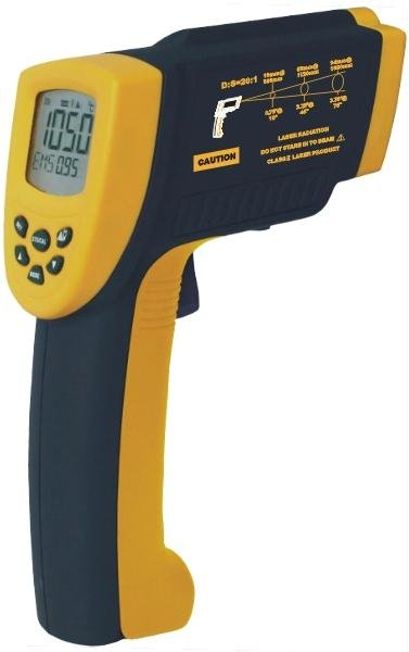 AR872D Digital Non-contact IR Infrared Thermometer(-58~ 1992F/-50~1050C) original xiaomi mijia ihealth thermometer accurate digital fever infrared clinical thermometer non contact measurement led shown