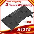 """Nova bateria para apple macbook air 11 """"a1370 a1375 late-2010 661-5736 mc505xx/a"""