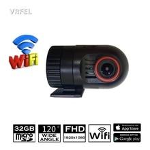 Mini WiFi Car DVR 1080P Digital Video Recorder DASH Rotatable Lens Car Camera Wireless Snapshot Car Camera