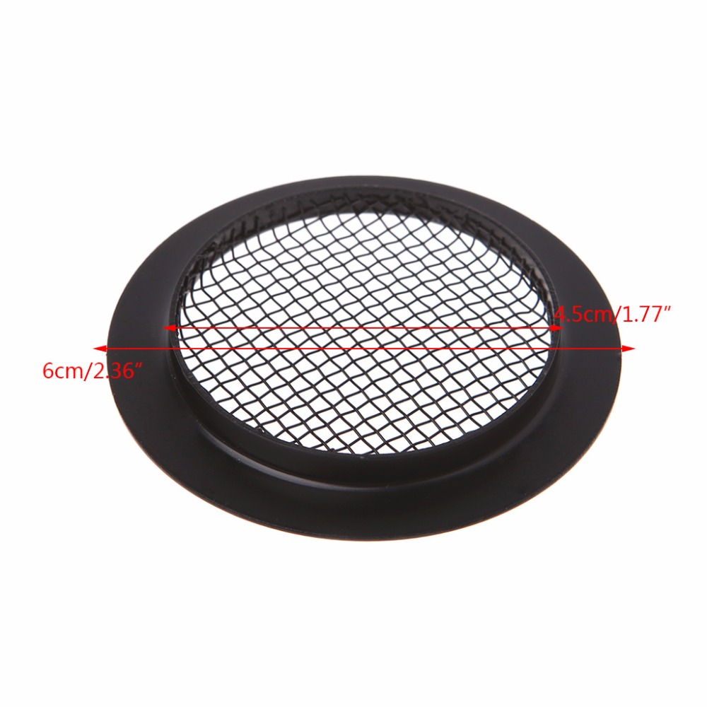 Screened Sound Hole Inserts Speaker Grill for Dobro Resonator Guitar Parts M17