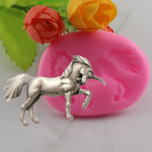 Horse Unicorn Silicone Mould Fondant Mold Cake Decorating Tools Chocolate Gumpaste Molds