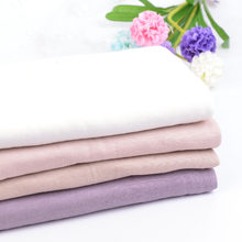 100% Eco-friendly very nice see through bamboo fiber cotton fabric for summer 50*155cm/piece A0126(China)