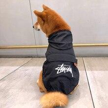 Pet Dog Sunscreen Clothes Small Dogs raincoat for dogs waterproof rain clothing cat Rainwear puppy Raining Jacket