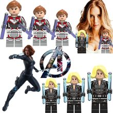 Hot Avengers Ultimate battle Movies Sexy Hero Black Widow Super Hero Iron Man America Captain Blood War thanos legoed toys H(China)