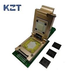 EMMC buchse eMMC153/169 eMCP162/186 eMCP221 Pogo Pin Test Sockel Reader BGA153 169 162 186 Daten Recovery SD Schnittstelle