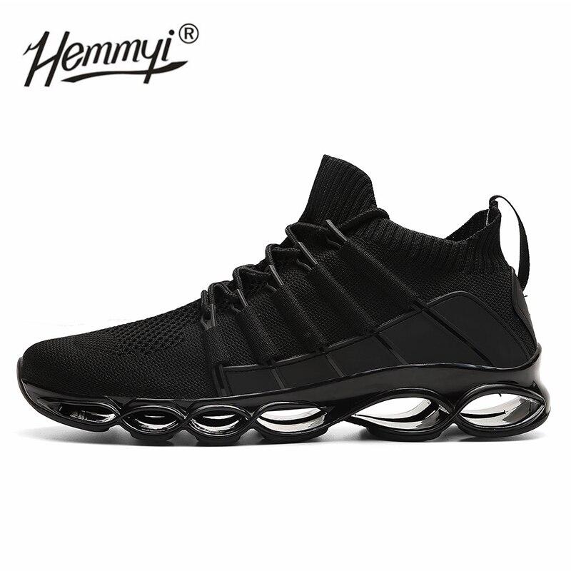 2019 nouveaux arrivants hommes baskets chaussures de course pour hommes sport Jogging chaussures de marche confortable Gym athlétique hommes chaussures