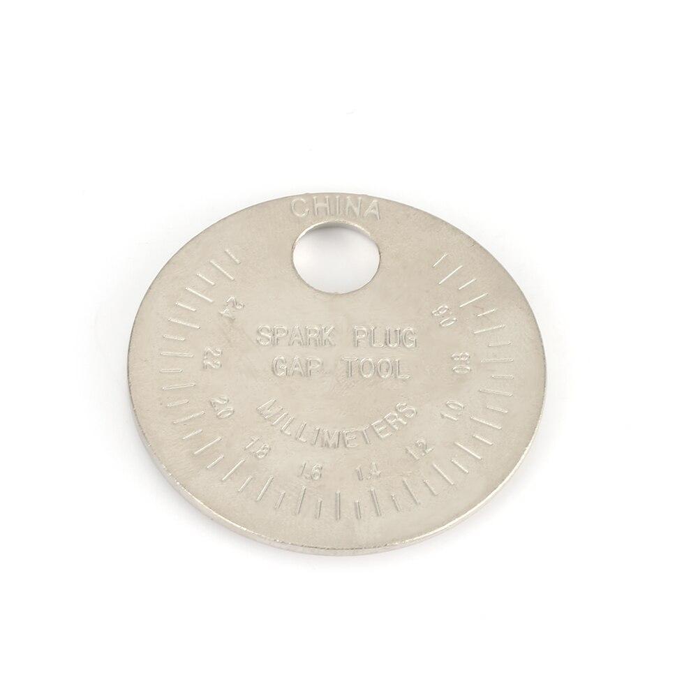 Image 3 - 1 piezas bujias de encendido bujía herramienta de calibre herramienta de medición moneda tipo 0,6 2,4mm de spark plug manómetro de herramienta Gage 4 unids lote china antorcha iridium bujías de platinoBujías y bujías incandescentes   -