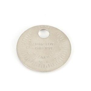 Image 3 - 1 piezas bujias de encendido bujía herramienta de calibre herramienta de medición moneda tipo 0,6 2,4mm de spark plug manómetro de herramienta Gage 4 unids lote china antorcha iridium bujías de platino