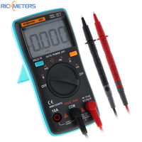 RICHMETERS RM101 Digital Multimeter 6000 Counts AC DC Ammeter Voltmeter Ohm Portable Meter With Backlight