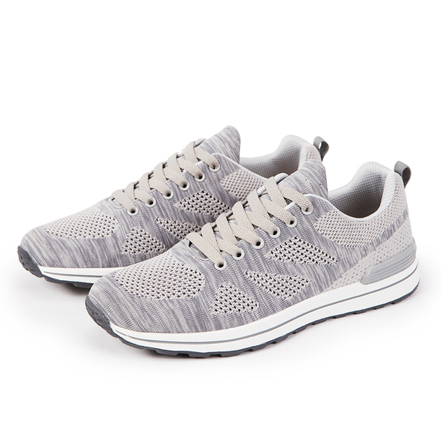 Men Casual Shoes 15 Colors Spring Autumn Shoe Breathable Mesh+Knitting Stitching Lace-up Shoes 7132