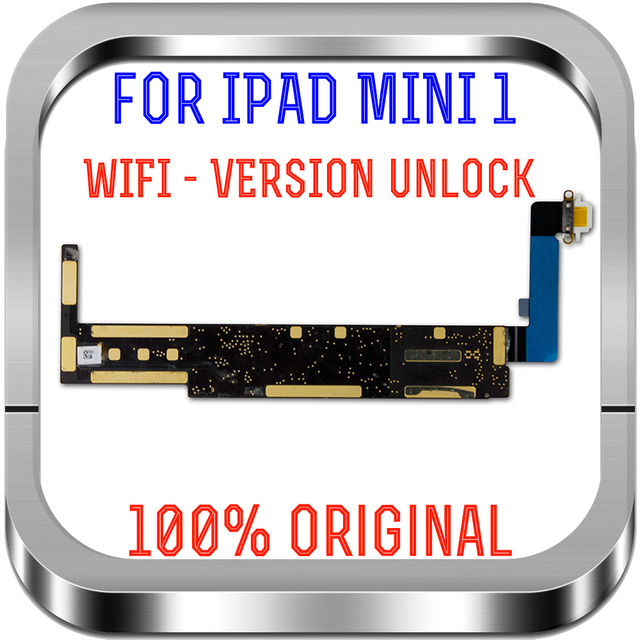 لوحة أم تم اختبارها 100% لأجهزة Ipad mini1 Wifi لوحات منطقية غير مقفلة لأجهزة Ipad mini 1 لوحة رئيسية للاستبدال مع رقائق A1432