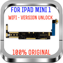 100% Tested Motherboard For Ipad mini1 Wifi Unlocked logic boards For Ipad mini 1 replacement mainboard with chips A1432