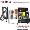 New Electric Unit Digital Soldering Iron Station Temperature Controller Kits For HAKKO T12 Handle DIY Kits
