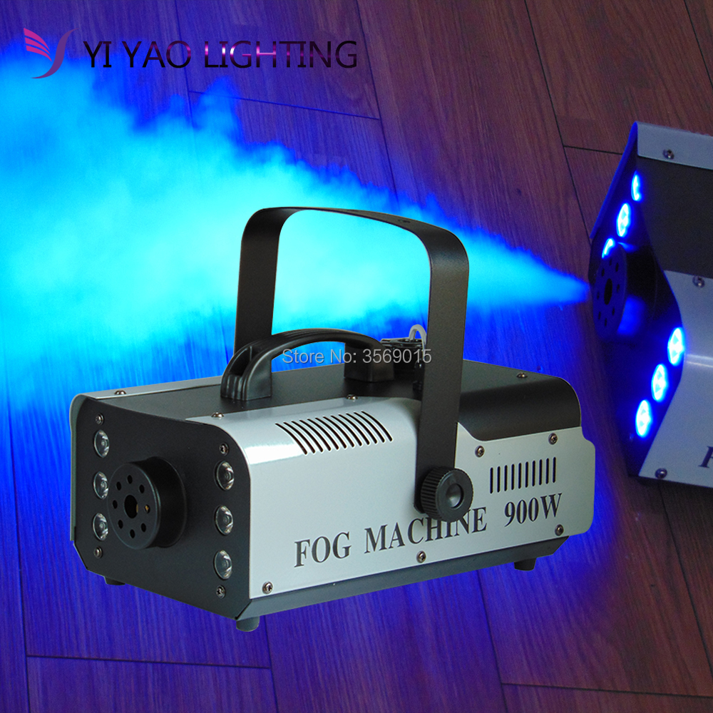 LED RGB 900w colored wireless remote control DJ for stage professional light