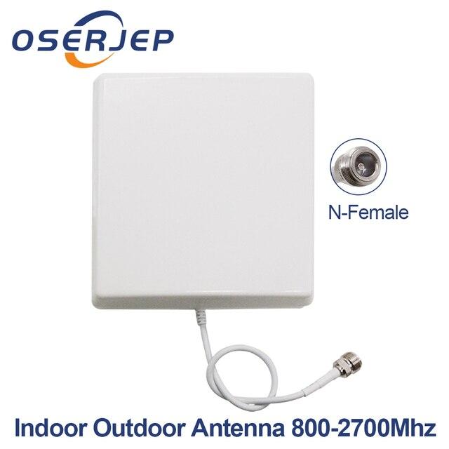 800-2700 MHz CDMA GSM DCS Nội Bộ 2G 3G 4G LTE Bảng Điều Chỉnh Antenna Trong Nhà Ăng-ten Điện Thoại Di Động di động Tín Hiệu Repeater Mobie Booster Antenna