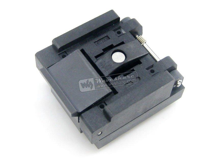 QFN40 MLP40 MLF40 QFN-40B-0.5-01 Enplas QFN 6x6 mm 0.5Pitch IC Test Burn-In Socket qfn20 mlp20 mlf20 qfn 20b 0 5 01 qfn enplas ic test burn in socket programming adapter 4x4mm 0 5pitch free shipping