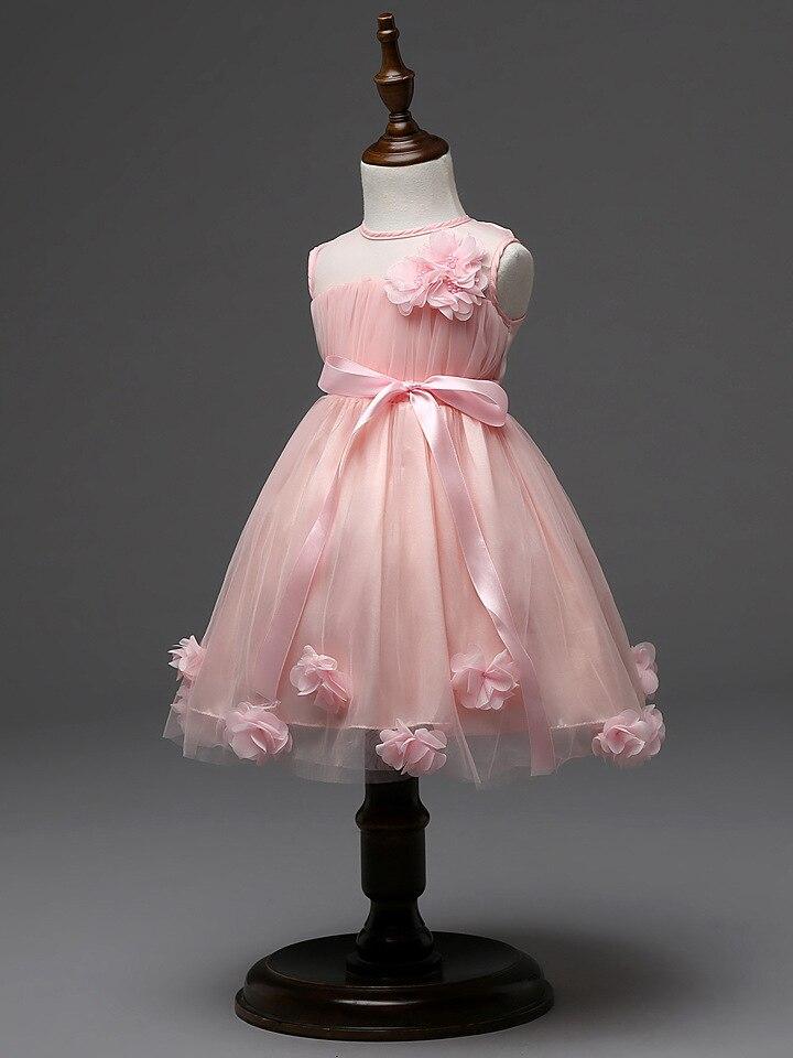 Infantil del bebé para adolescentes niños vestidos de niñas vestido ...