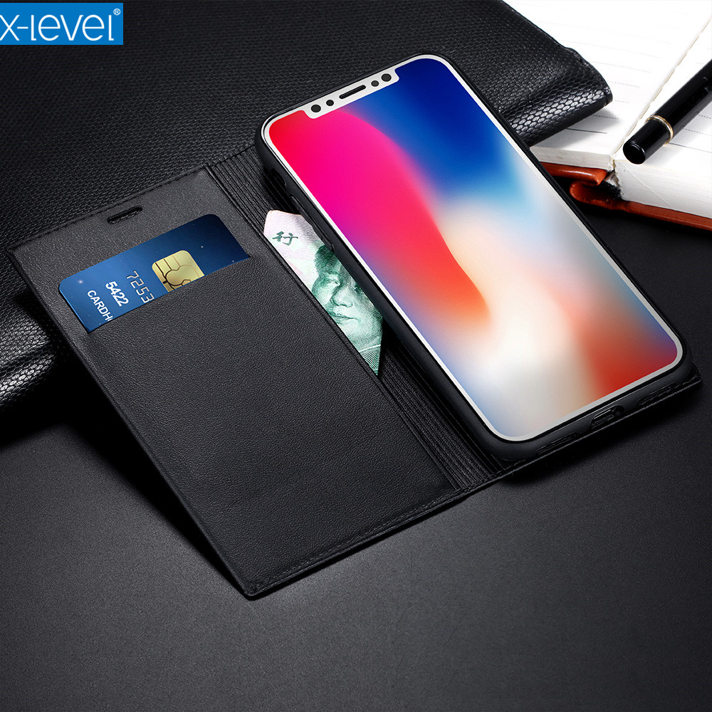 X level business card type wallet style pu leather flip phone case x level business card type wallet style pu leather flip phone case for apple iphone x luxury case in wallet cases from cellphones telecommunications on colourmoves