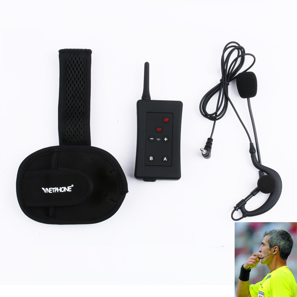 Vnetphone fbim bt interphone 1200 m sans fil bluetooth interphone full duplex talkie walkie pour juges
