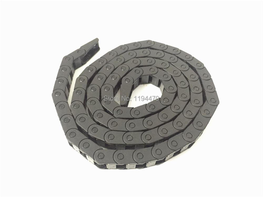 "5pcs Cable Drag Chain Wire Carrier 10*10mm 10mm x 10mm R18 1000mm 40/"" for CNC"