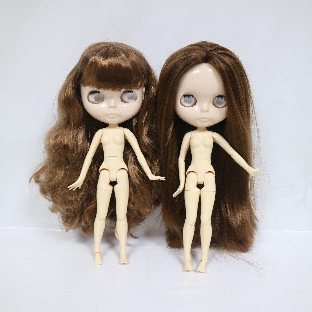 Sin chips de ojos, muñeca Blyth de cuerpo de articulación (Serie No. BRG61)-in Muñecas from Juguetes y pasatiempos    1