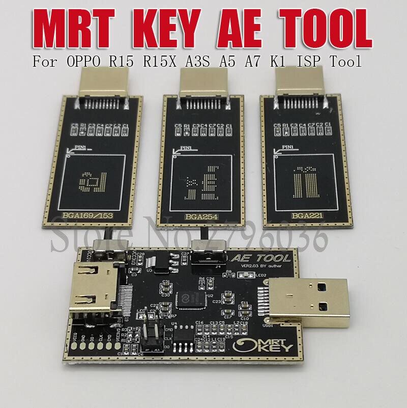 MRT Dongle AE outil AETOOL EMMC programmeur pour OPPO R15 R15X A5 A7 K1 fai outil - 4