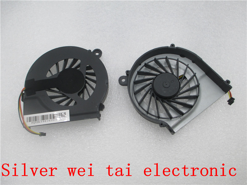 Cooler Fan For HP Pavilion CQ42 CQ56 CQ62 G42 G56 G4-1000 G6 G7-1251ER -1251SF -1251SI 1250SF 1250SG 055417R1S 3 Pin 4 in 1 multifunction charging dock station cooling fan external cooler dual charger for xbox one controllers s game console