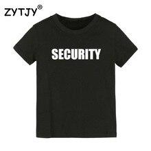 Детская футболка с надписью безопасности футболка для мальчиков и девочек, одежда для малышей Забавные футболки, Прямая поставка Y-51