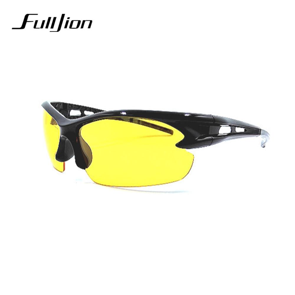 Fulljion UV400 Sunglasses Fishing Eyewear Driving Cycling Sunglasses Explosion Proof Pesca Sports Outdoor Eyeglasses