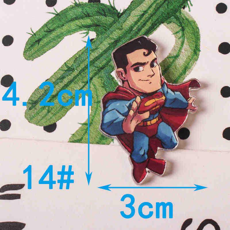 Jl 1 pcs 마블의 avenge 만화 아이콘 핀 kawaii 아이콘 배지 bacges 배낭 배지에 대한 아크릴 배지 z70