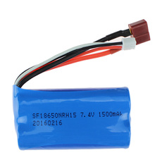 7.4V 1500Mah Lipo Battery For Wltoys 12423 12428 12401 12402 12429 2S 7.4 V