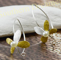 Earrings Cloves Aros de plata 925 Woman Natural Elegant Freshwater Pearl aros de perlas creolen 925 silber