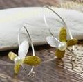 Pendientes de Aros de plata Clavos 925 Mujer Elegante Natural de Agua Dulce Perla aros de perlas creolen 925 silber