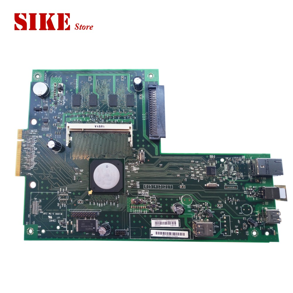 CE859-60001 Logic Main Board Use For HP CP3525 CP3525dn CP3525n 3525 3525n Formatter Board Mainboard formatter pca assy formatter board logic main board mainboard mother board for hp m775 m775dn m775f m775z m775z ce396 60001