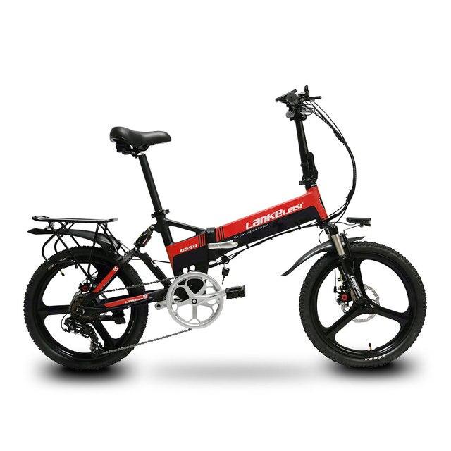 Cyrusher G550 Электрический складной велосипед 240 W 48 V 10AH полной подвеской фотоаппаратов моментальной печати 7 s 5 Установка умный компьютерный Электрический одометром складываемый электровелосипед