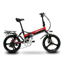 Cyrusher G550 Electric Folding Bike 400W 48V 10AH Full Suspension 7s With Smart Computer Electric Foldable Bicycle 48V ebike