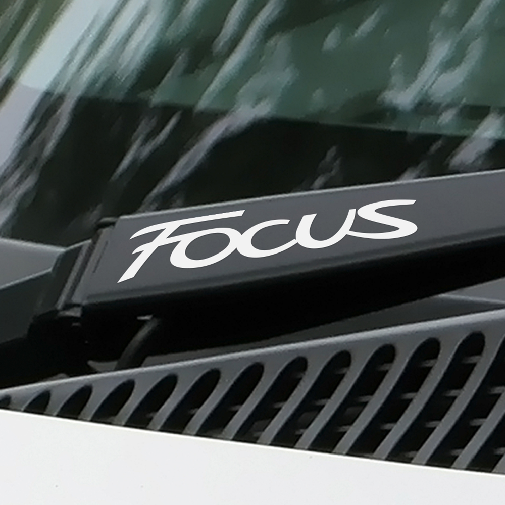 4PCS Car Stickers Window Wiper For Ford Focus 2 3 1 MK2 MK3 MK1 Fashion Window Decor Reflective Decals Car Accessories Styling-in Car Stickers from Automobiles & Motorcycles