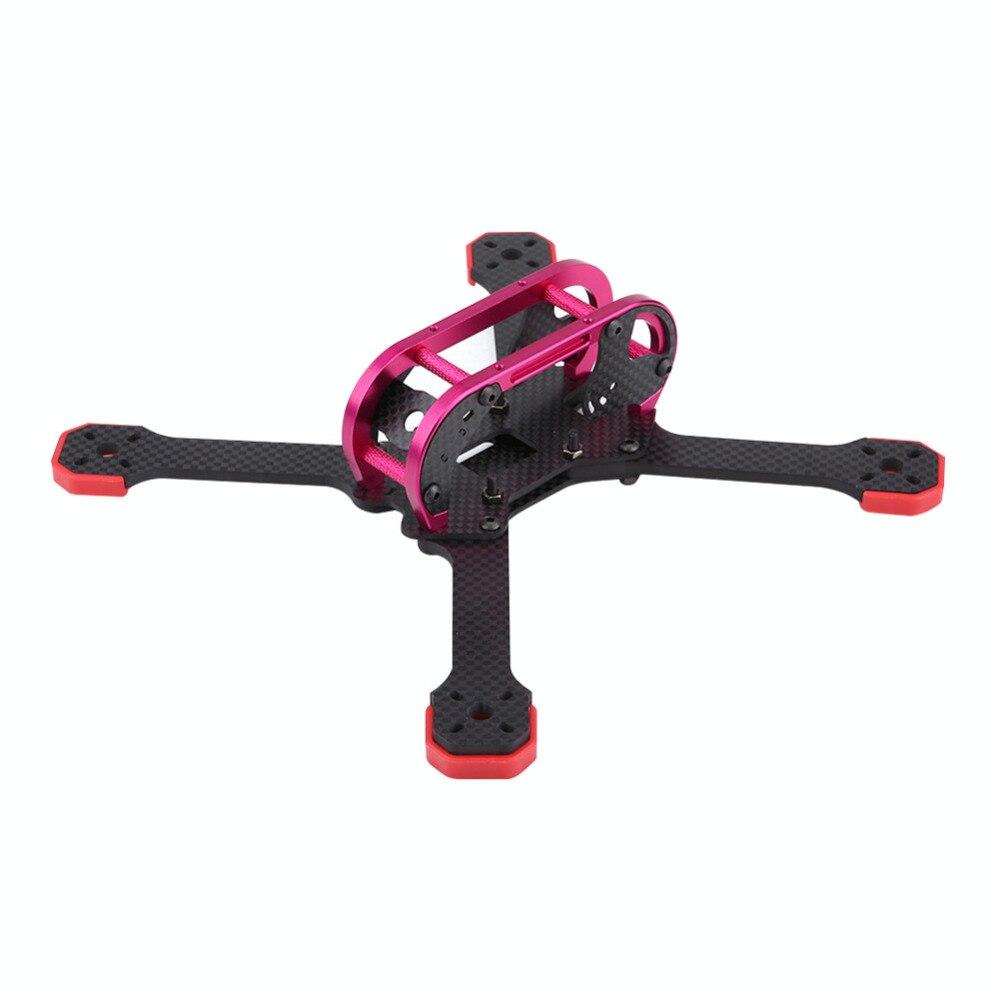 Pour TransTEC cadre de Drone FPV gras 218 MM FPV course quadrirotor Drone Kit de cadre en Fiber de carbone accessoire RC