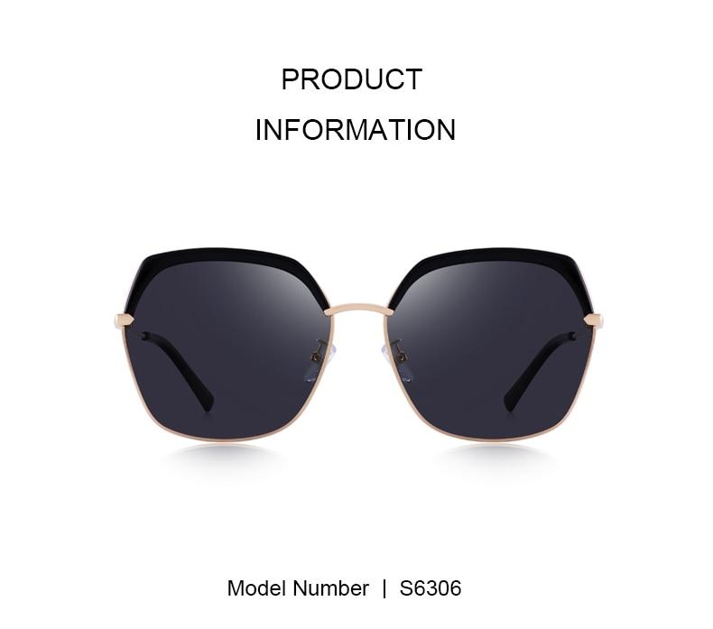 Luxury Square Sunglasses S6306