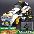 New 305Pcs Lepin 07047 Genuine Batman Series The Arctic War Penguin Classic Car Set Building Blocks Bricks Toys 70911 ACTUALS