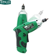 LAOA 2016 type 3.6V Electric Screwdrivers set with Chargeable Battery Cordless Drill DIY with 11 bits