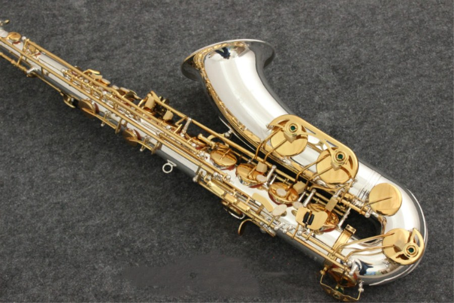 2018 New Tenor Yanagisawa T-992 B flat tenor saxophone silvering Gold key music Instrument Yanagisawa Saxophone free shipping 2018 japan yanagisawa new tenor saxophone t 992 b flat tenor saxophone gold key yanagisawa sax with accessories professionally