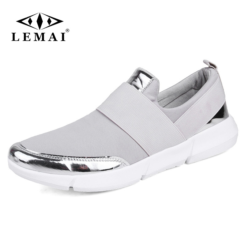 2018 marque mesh respirant Été chaussures femmes mocassins Slip on casual Chaussures ultraléger appartements chaussures New zapatillas chaussures size35-42